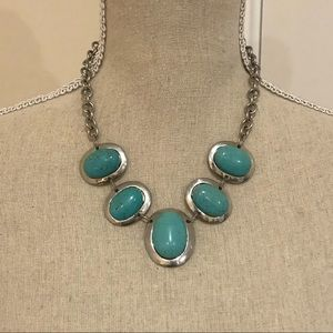 Blue Stone Necklace from Greece